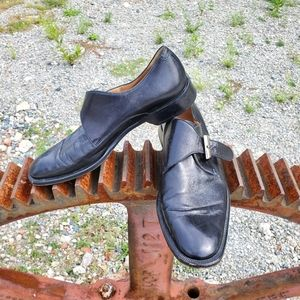 Bruno Magli Morfeo hand made leather shoes. Sz 10
